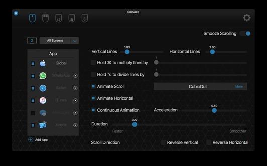 Smooze screenshot