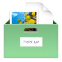 Tidy Up is part of decluttering your desktop
