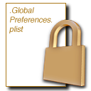 Logo for GlobalPreferencesLocker