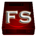 Logo for FS Drive Size