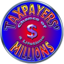 Logo for Taxpayers Millions