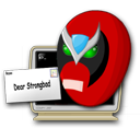Logo for Strong Bad Email Viewer