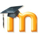 Logo for Moodle