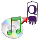 Logo for iTunes Qcast Converter