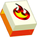 Burning Monkey Mahjong Solitaire logo