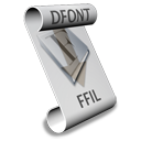 Logo for dfontifier