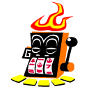 Logo for Burning Monkey Casino