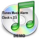 iTunes Music Alarm Clock logo