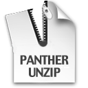 Logo for Panther Unzip