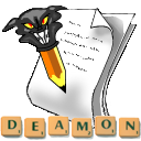 Logo for ScrebbleDeamon