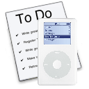 ToDo X to iPod Notes logo