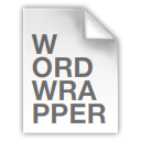 Logo for WordWrapper