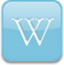 Wikipedia Widget logo