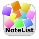NoteList is part of Text Editors, plain and simple