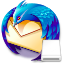Portable Thunderbird logo