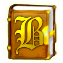 Logo for Bookworm Deluxe