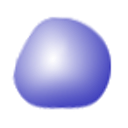 Squishy Blue Bubble!! logo