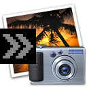 Send Photos to iPhoto logo