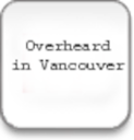 Logo for Overheard in Vancouver RSS Widget
