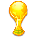 Comic World Cup Icons logo