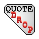 Logo for QuoteDrop