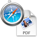 Safari-Display or Download PDF files logo