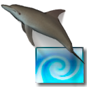 Logo for Desktop Dolphins 3D Screen Saver