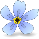 Logo for Forget-Me-Not