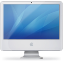 iMac Intel Core2 Duo icons logo