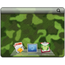 Camouflage is part of decluttering your desktop