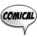 Comical logo
