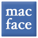 Logo for Mac Face