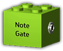 Logo for Note Gate