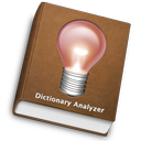 Logo for DictionaryAnalyzer