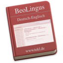 BeoLingus German-English Dictionary Plugin logo