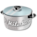 Logo for DV Kitchen