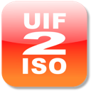 Logo for uif2iso4mac
