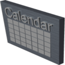 Mini Popup Calendar icon