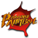 Paradise Paintball Widget logo