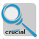 Logo for Crucial Mac System Scanner