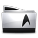 Star Trek Folders logo
