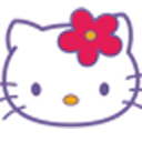Logo for Hello Kitty