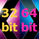 Logo for 32- or 64-bit Kernel Startup Mode Selector