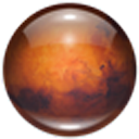 Logo for Mars 3D Space Survey Screensaver