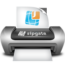 Logo for sipgate Faxprinter