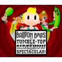 Logo for The Balloon Brothers Tumble Top Spectacular