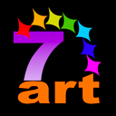 Logo for 7art Radiating Clock