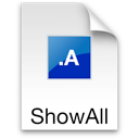 Logo for ShowAllFiles