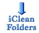 Logo for iClean Folder Icons