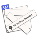 Logo for VirtualBox Menulet